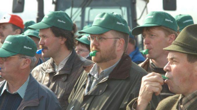 Bauern demonstrieren am 18.9. in Hannover - Foto: landpixel