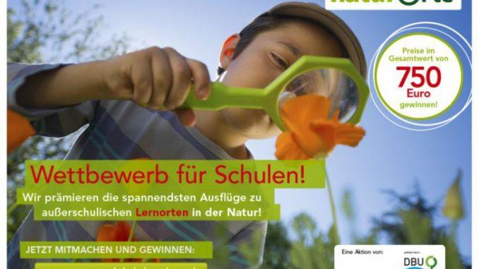 Wettbewerb für Schulen mit Lernorten in der Natur -