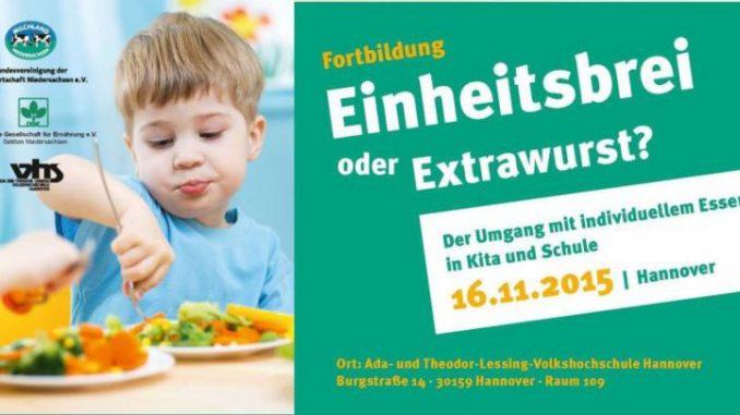 Seminar üer individuelle Kinder-Ernährungstrends -