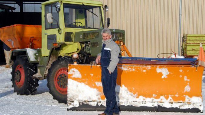 Winterdienst als Zusatzeinkommen für Landwirte - Foto: Landpixel