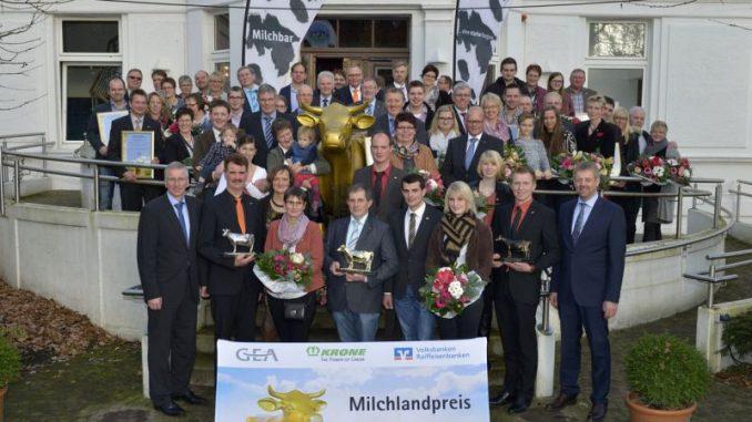 Goldene Olga für Familie Schulte aus Rhauderfehn - Foto: LVN