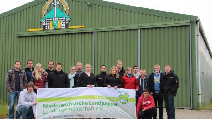 Die Deutsche Landjugend legt LOS in Tarmstedt - Foto: NLJ