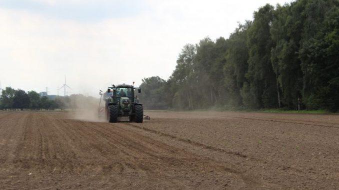 Landwirte fürchten um ihre Flächen - Foto: Landvolk