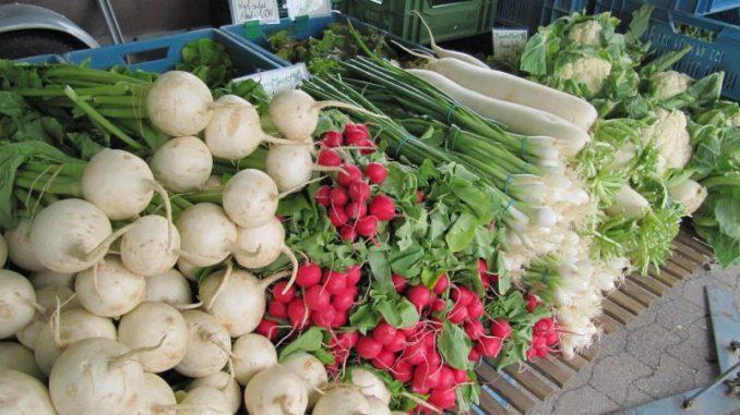 Gemüse aus der Region gibt es reichlich - Foto: Landvolk
