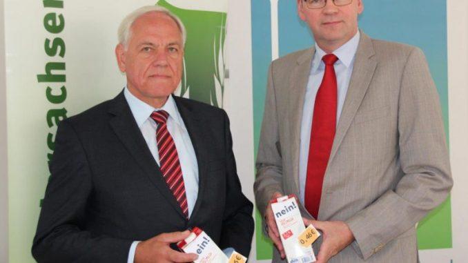 Investiionen müssen erst sauer verdient werden - Landvolkpräsident Werner Hilse (links) und Generalsekretär DBV Bernhard Krüsken Foto: Landvolk
