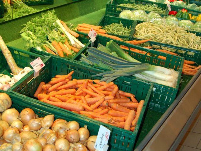 Gemüseverkauf