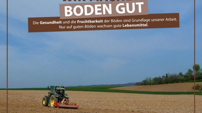 Urbane Flächenumnutzung schont das Ackerland - Foto: DBV