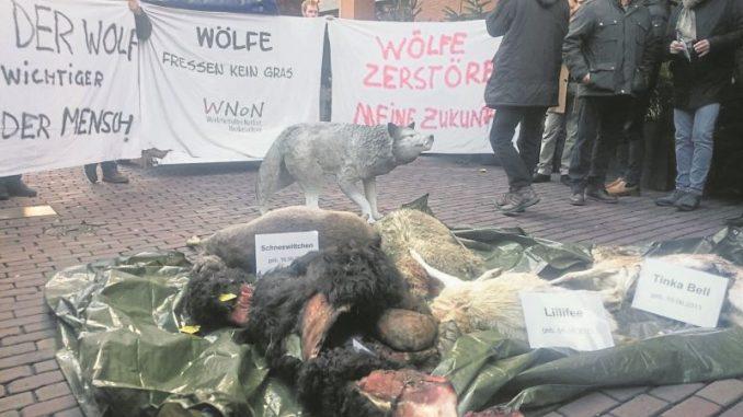 Schäfer-Demo vor dem Landtag - Foto: Holm