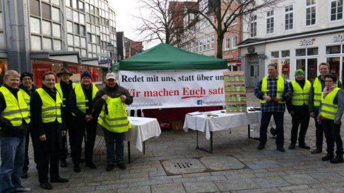 Wir machen euch satt - Dialog statt Protest - Foto: Landvolk