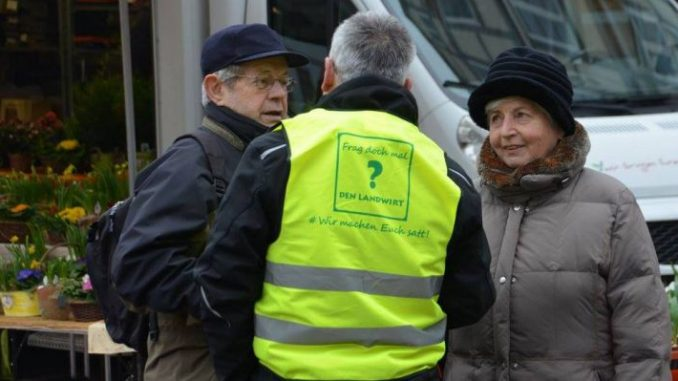 Wir machen Euch satt - Foto: Landvolk Celle