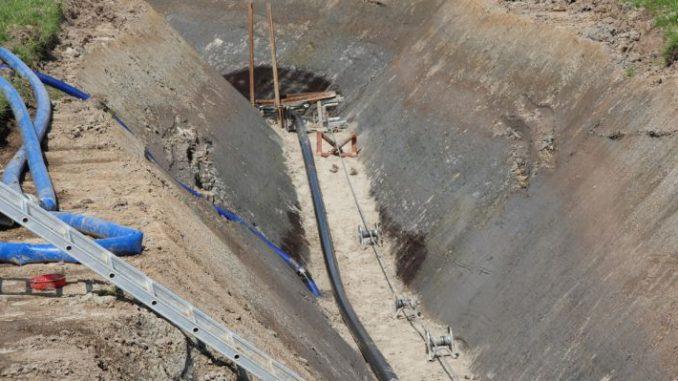 Erdkabel beim Stromnetzausbau - Foto: Landvolk