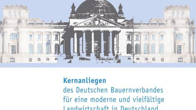 DBV formuliert Kernanliegen zur Bundestagswahl -