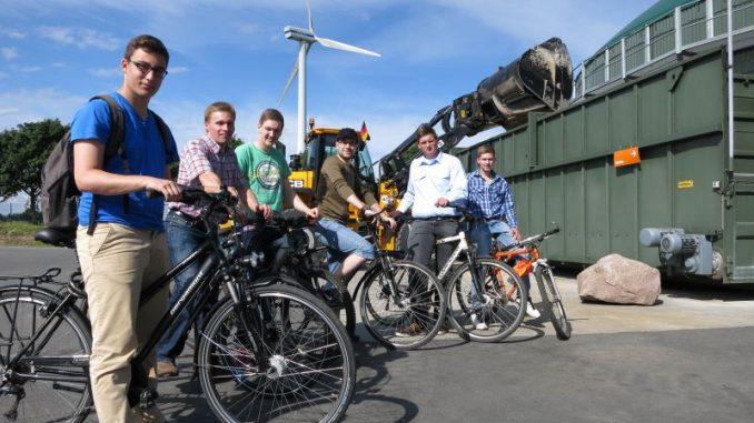 Mit dem Fahrrad eine Tour durch Feld und Flur - Foto: Eckhoff