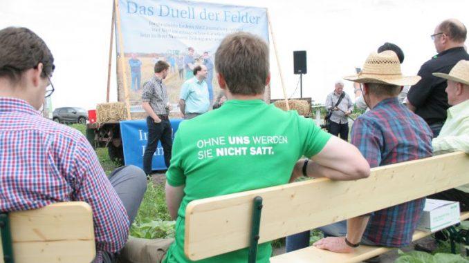 Beim Duell der Felder gewinnen ale - Foto: Thale Alfs