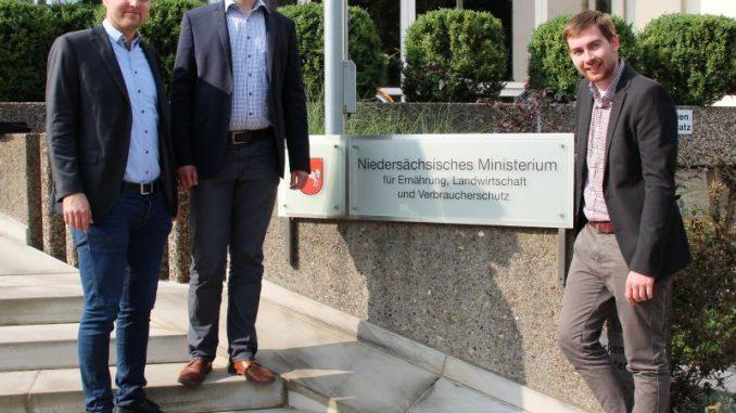 Rechtliche Hürden verhinder mehr Tierwohl - v.l. Brunkhorst