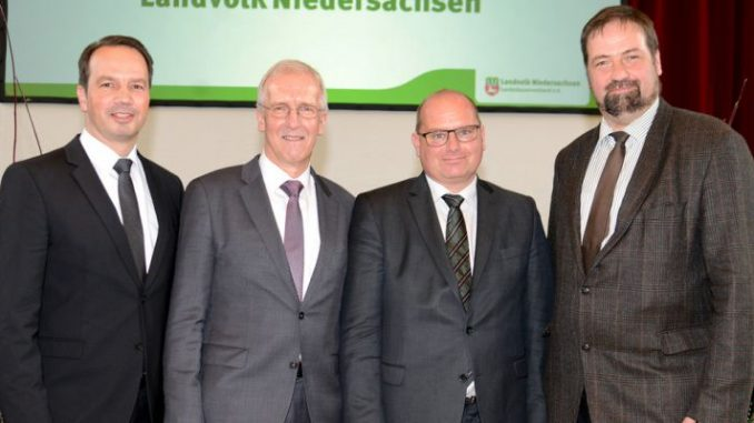 Schulte to Brinke folgt als Präsident auf Hilse - v.l.n.r.: Jörn Ehlers