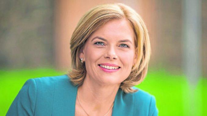 Klöckner wäre die neue Ministerin - Foto: CDU