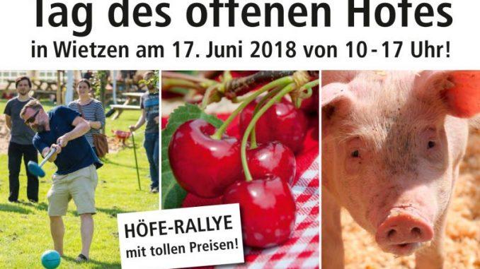 Tag des offenen Hofes bietet spannende Einblicke in moderne Landwirtschaft -