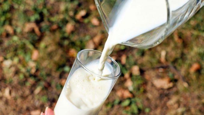 Milch wird intensiv beworben -
