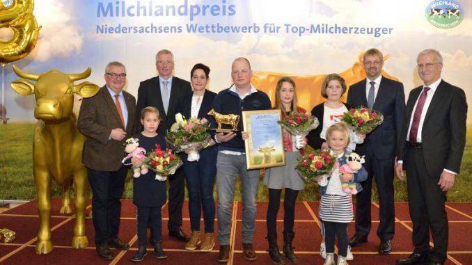 Bentheimer Hof gewinnt erneut Milchlandpreis - Foto: LVN