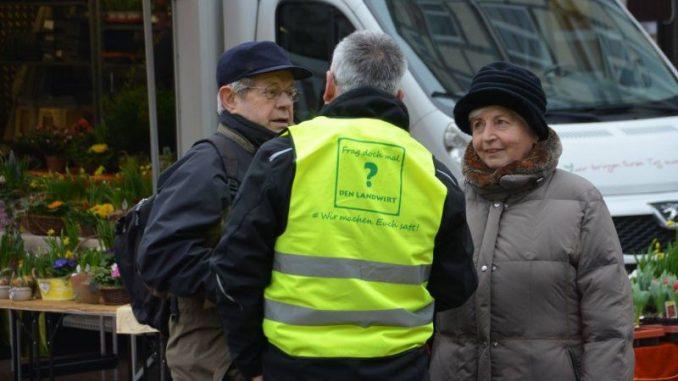 Landwirte stellen sich den Verbraucherfragen - Foto: Landvolk Celle