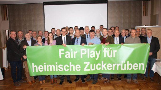 """Rübenanbauer fordern """"Fair Play"""" für Zuckerrüben - Foto: DNZ"""
