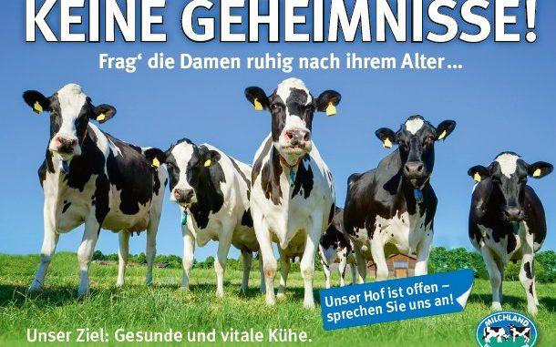 Milchbauern haben keine Geheimnisse -