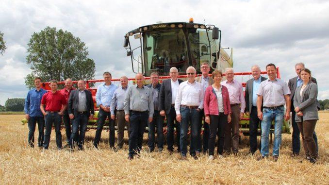 Frühe Getreideernte mit reduzierten Erträgen - Foto: Landvolk