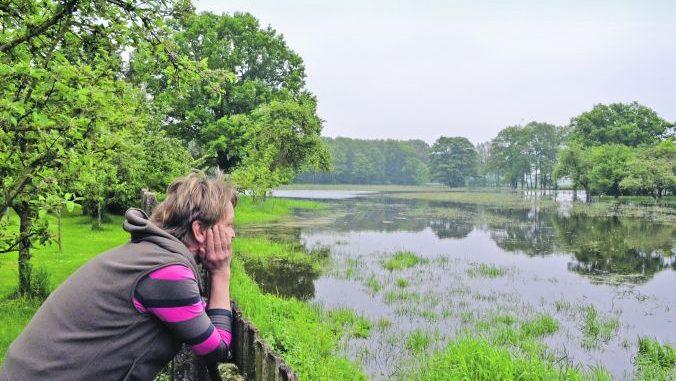 Wettlauf mit der Flut - Foto: Sabine Hildebrandt