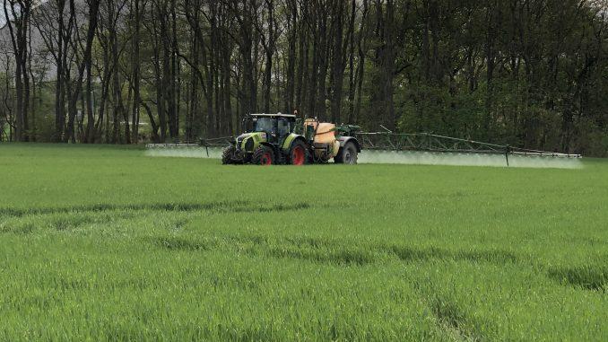 Pflanzenschutz auf dem Feld