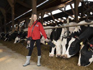 Milchkinderreporterin Vitoria