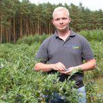 Heidelbeerbauer Hannes Badenhop