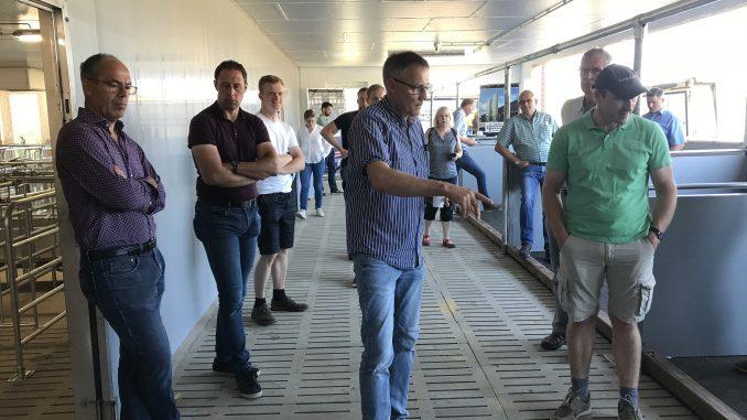 AK Sauenhaltung und Veredelungsausschuss im Stall