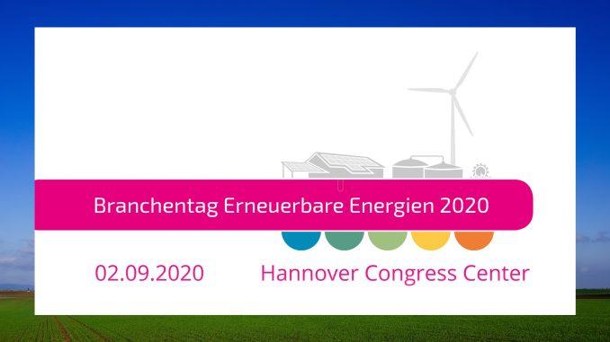 Logo Branchentag Erneuerbare Energien