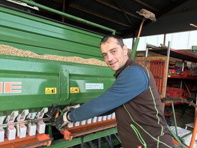 Landwirt Torsten Kirchner
