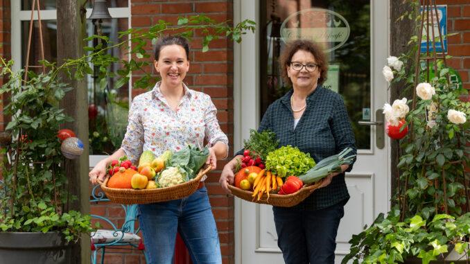 Teresa-Marie Pelka und Marion Voß
