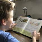Bauernhöfe in Schulbüchern