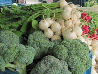 Gemüse auf dem Markt