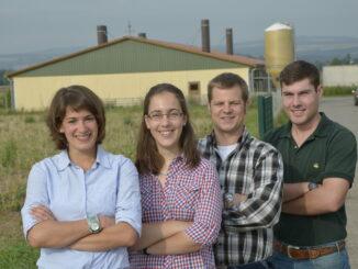 Junge Landwirte und Landwirtinnen